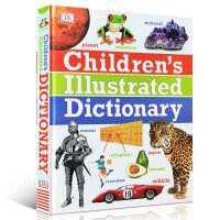 全店满300减100】DK儿童图解字典词典 英文原版精装大开本 Children's Illustrated Dicti