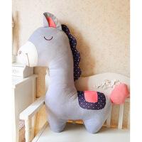 神兽小马毛绒玩具布娃娃抱枕婚庆结婚礼品生日礼物送女生玩偶