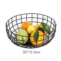 北欧设计师简约家居时尚铁艺水果篮创意多功能果盘水果篮