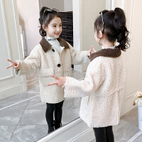 2019新款小女孩衣服公主秋冬装儿童中长款童装女童冬装外套
