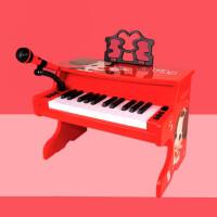 钢琴玩具儿童初学者多功能电子琴家用女孩初学1-3-6-12岁小孩宝宝 韩国冬己小钢琴