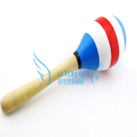 奥尔夫乐器 儿童音乐玩具 木制沙锤 卡通沙锤