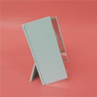 日本大创三面镜子折叠便携化妆镜立式全景梳妆镜时尚多面镜