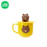 陶瓷杯子 动漫周边萌趣可爱居家带盖水杯茶杯