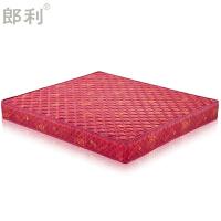 喜庆大婚床垫新婚红色床垫天然山棕榈床垫1.21.51.8米定制