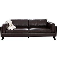 【旗舰精品】北欧小户型皮沙发日式现代简约客厅单双人三人咖啡厅办公沙发具