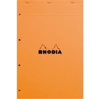 法国罗地亚Rhodia A4上翻笔记本 4孔拍纸本 附撕裂线