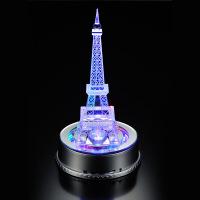 水晶塔 生日礼物埃菲尔铁塔模型创意送朋友家居摆件