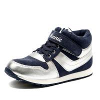 鞋柜童鞋 冬季男童鞋休闲时尚低筒短靴-tt