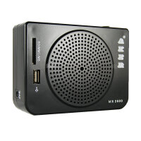 爱课 MR2800腰包 大功率扩音器 插U盘 SD卡 FM收音