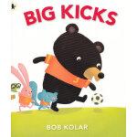 Big Kicks 踢球的小熊(Walker经典绘本) ISBN9781406327816
