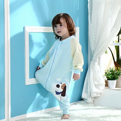 宝宝睡袋 防踢被婴儿睡袋分腿防踢空调被儿童夏季夏天薄款宝宝连体睡衣wk-49