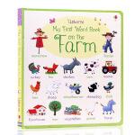 英文原版My First Word Book About On the Farm关于农场的书 幼儿单词早教启蒙绘本Us