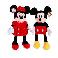 米老鼠公仔 毛绒玩具米奇米妮大号情侣一对公仔布娃娃儿童女友生日礼物