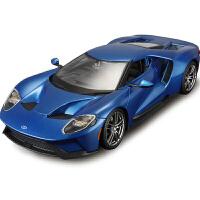 1:18福特GT汽车模型仿真合金跑车模型原厂金属车模型摆件