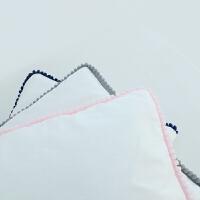 婴儿床围秋冬款宝宝床上用品儿童全棉四件套透气可拆洗zf08 117*100