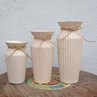现代简约花瓶陶瓷工艺品 家居创意装饰品 电视酒柜客厅摆件批发 三只组合装