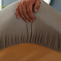 纯棉床笠单件保护套全棉床垫套纯色加高加厚床套子1.8m席梦思床罩