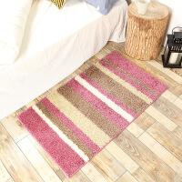 防滑地毯地毯地垫客厅卧室简约现代满铺茶几沙发大地毯床边毯长条门垫脚垫 60*100CM