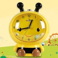 懒虫起床闹钟 儿童闹钟卡通会说话叫懒虫起床蜜蜂可爱学生用床头女孩专用静音B