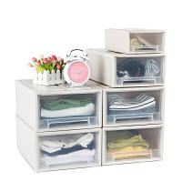 抽屉收纳箱收纳柜宝宝衣柜婴儿储物柜塑料整理柜衣物玩具多层收纳盒 加