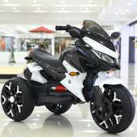 儿童电动摩托车三轮车遥控小孩玩具汽车男女宝宝电瓶童车可坐大人