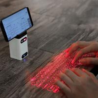 无线蓝牙键盘激光虚拟镭射苹果手机平板iPad通用便携投影键盘 官方标配