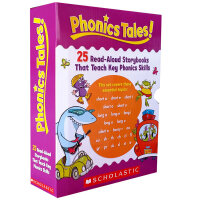 顺丰发货 Phonics Tales 趣味认知故事集:自然发音法 培养自然拼读技能 已学会26个字母,并累积了一定数量的高频词