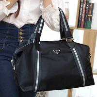 大容量时尚韩版女包单肩手提包斜挎包大包包尼龙旅行包短途行李袋