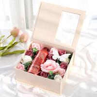 礼物女生玫瑰肥皂香皂花礼盒皂花生日韩国创意实用礼品送闺蜜