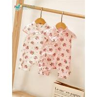 婴儿宝宝连体衣女宝宝夏装旗袍婴儿衣服薄款外出爬服