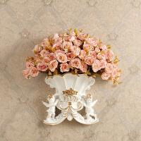 新品家居墙面装饰品创意背景墙上壁饰欧式壁挂件花盆装修饰品复古挂饰