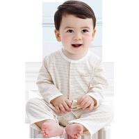 春秋夏季空调服薄款长袖婴儿睡衣棉哈衣宝宝夏装婴儿连体衣服