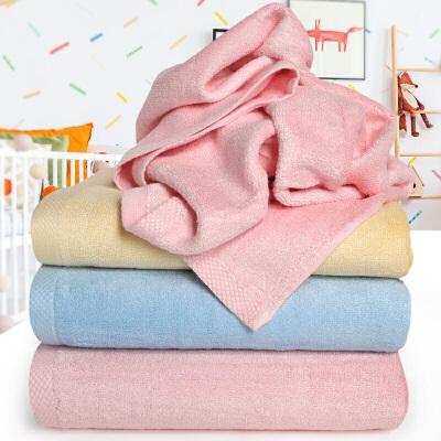 竹纤维婴儿浴巾纯棉新生儿毛巾被宝宝洗澡大毛巾x定制 100x100cm 蓝色 定制商品(定金)下单前请咨询客服,定制商品以咨询客服为准。否则本店有权不发货。