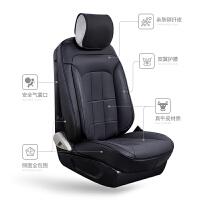 汽车坐垫大众新朗逸plus18新款19四季通用座椅套全包护腰定做