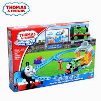三种场景选择 托马斯电动系列双环轨道套装BGL97 儿童小火车轨道托马斯 BGL97 CGW30 官方标配