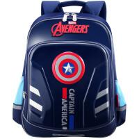 Disney迪士尼 BA5124A美国队长小学生书包4-6年级双肩包儿童背包 当当自营