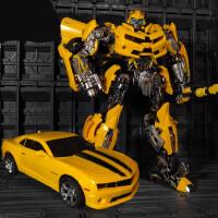 变形玩具金刚5合金版大黄蜂机器人威将MPM03超大战锤模型 大黄蜂MPM03【28厘米现货】