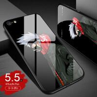 苹果6splus手机壳潮男iphone6s保护套火影忍者6p个性创意潮牌苹果6s玻璃壳s新款6p