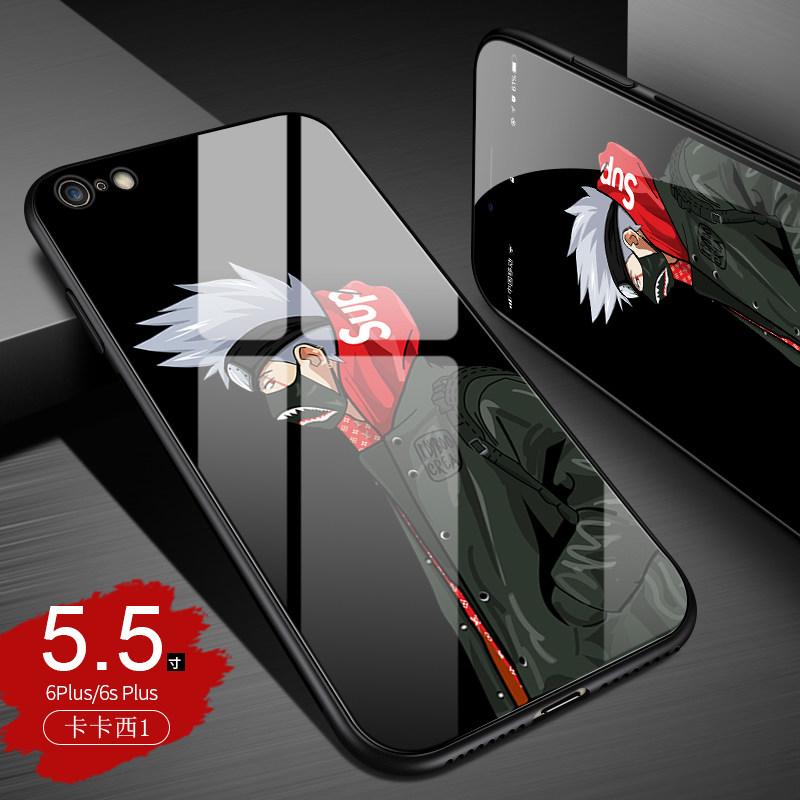 苹果6splus手机壳潮男iphone6s保护套火影忍者6p个性创意潮牌苹果6s玻璃壳s新款6p 发货周期:一般在付款后2-90天左右发货,具体发货时间请以与客服协商的时间为准