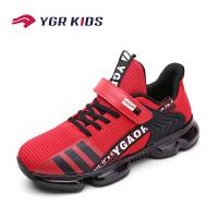 永高人男童鞋2020春夏季新款儿童跑步鞋防水网面中童运动鞋大童休闲鞋防滑小学生网鞋