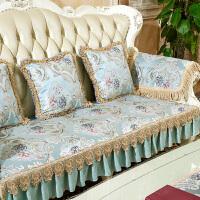 欧式沙发垫皮四季通用型防滑布艺全包靠背巾罩套全盖