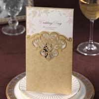 请帖结婚礼中式请柬定制打印创意欧式喜帖生日商务邀请函卡