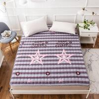 榻榻米床垫1.8米防滑可机洗床褥子1.5m床保护垫 折叠宿舍垫被1.2m定制