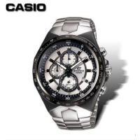 Casio/卡西欧 时尚潮流钢带计时防水三眼石英表男表 EF-534D-7A