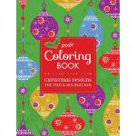 【预订】Posh Adult Coloring Book: Christmas Designs for Fun & R
