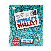 威利在哪里?Where's Wally?英文原版绘本 找一找 迷你书 培养孩子专注力观察力平装 英语启蒙绘本