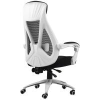 六一儿童节520黑白调电脑椅家用老板椅子商务人体工学转椅电竞椅游戏可躺办公椅520礼物母亲节