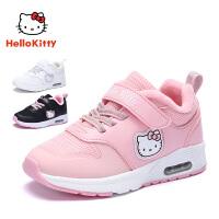 【到手价:109元】HelloKitty凯蒂猫童鞋女童运动鞋网面透气2019秋季新款女孩学生休闲鞋K8543840