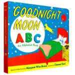 顺丰发货 Goodnight Moon ABC 纸板书 Margaret Wise Brown经典英文原版绘本 亲子读